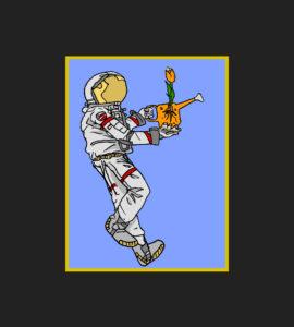 astrobotany framed astrobotanist iconic