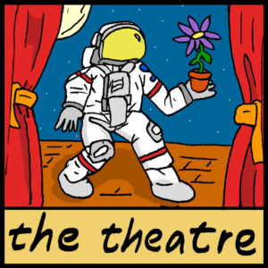 astrobotany theatre pop culture
