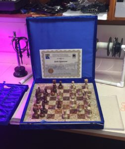 dirk spencer memorial chess game