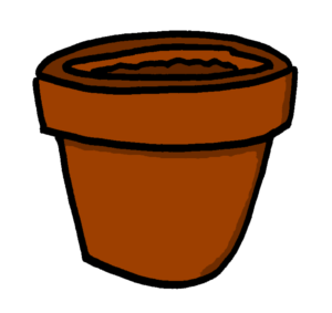 plant pot astrobotany